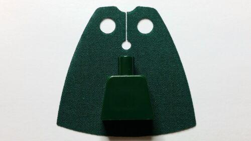 Lego MINIFIGS DARK GREEN CUSTOM Cape Cloth Accessory Starwars Batman Castle NEW