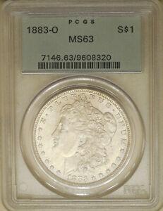 1883-O-Morgan-Silver-dollar-PCGS-MS-63-choice-unc-old-green-holder