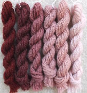 New Paternayan Wool 3ply Persian Yarn Needlepoint Crewel 740 Tobacco Family