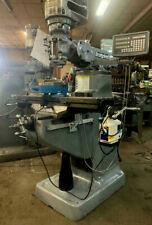 1 Hp Recondition Bridgeport Milling Machine Dro Power Feed