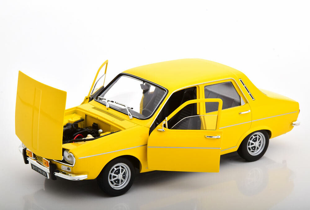 Norev 1973 RENAULT R12 TS Yellow in 1 18 Scale New Release