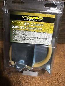 Nouveau Ht Polar Ice Crampons Avec Chaînes Creepers Pic-10-afficher Le Titre D'origine