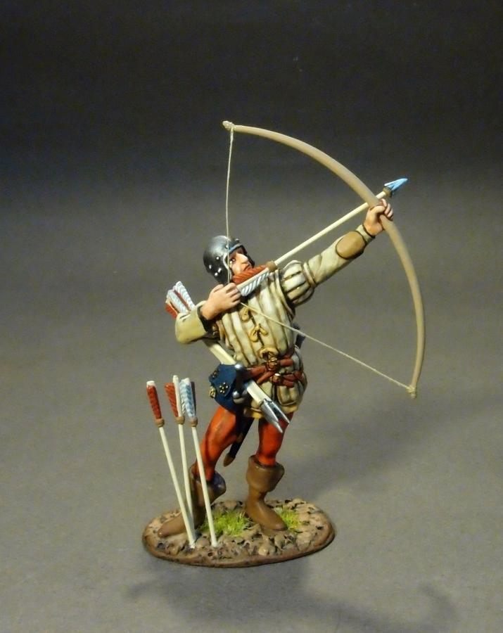 JOHN JENKINS WAR OF THE pinkS YORK-30 YORKIST ARCHER MIB