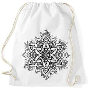Turnbeutel-Mandala-Ornament-Bohemian-Boho-Ethno-Hipster-Beutel-Tasche-Gymsac