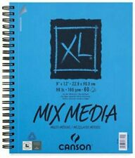 Canson XL Series Mix Media Pad 5.5X8.5 Side Wire