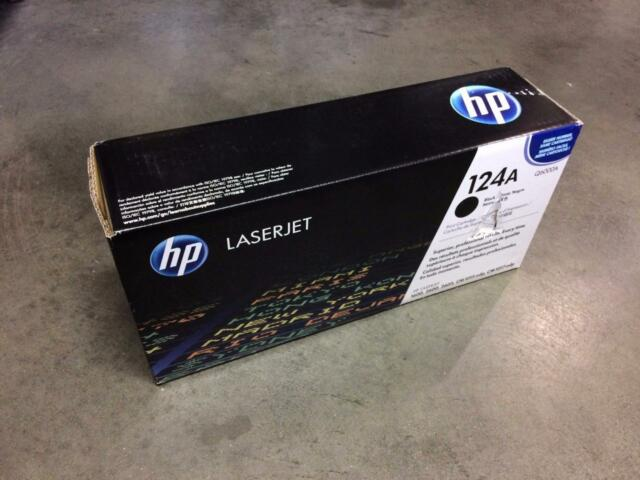 NEW GENUINE OEM SEALED DAMAGE BOX HP Q6000A BLACK TONER CARTRIDGE