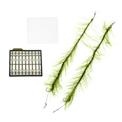 Carp Fishing Hair Rigs Weed Line Size 2 4 6 Hook Carp Rigs Boilie Stoppers