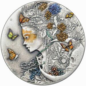 Silbermuenze-2020-Niue-2-ANASTASIYA-Dark-Beauties-50g-Silver-Coin-999-Le-Grand