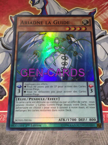 Carte Yu Gi Oh ARIADNE LA GUIDE BOSH-FR036