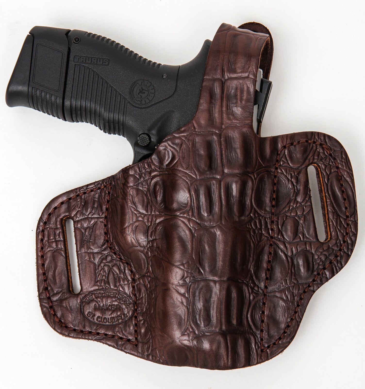 On Duty Conceal RH LH OWB Leder Gun 1911 Holster For Colt 1911 Gun 5
