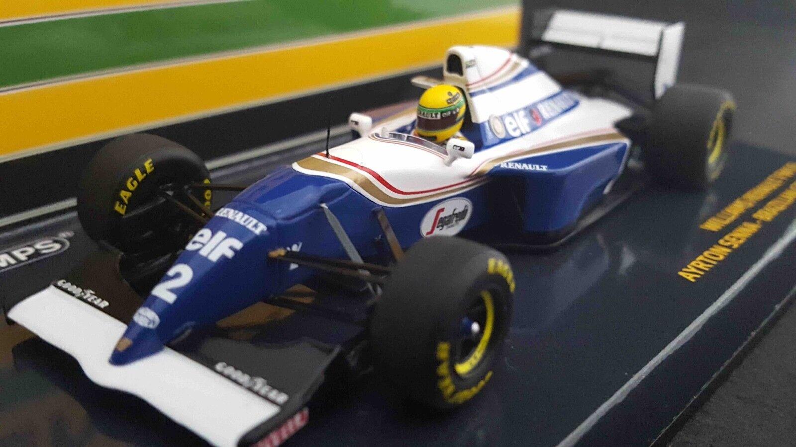 promociones de descuento Minichamps 547940102 1 43 43 43 Williams FW16 Ayrton Senna 1994 Brasil GP F1 Modelo  vendiendo bien en todo el mundo