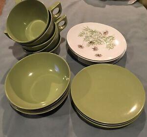 Melmac Melamine Dinnerware Dishes
