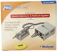Medicool Pro Power 35k Professional Electric Nails File .brand