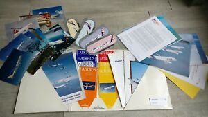 Folder-Press-1996-Airbus-With-319-Photos-Stickers-Hanger-Documentation