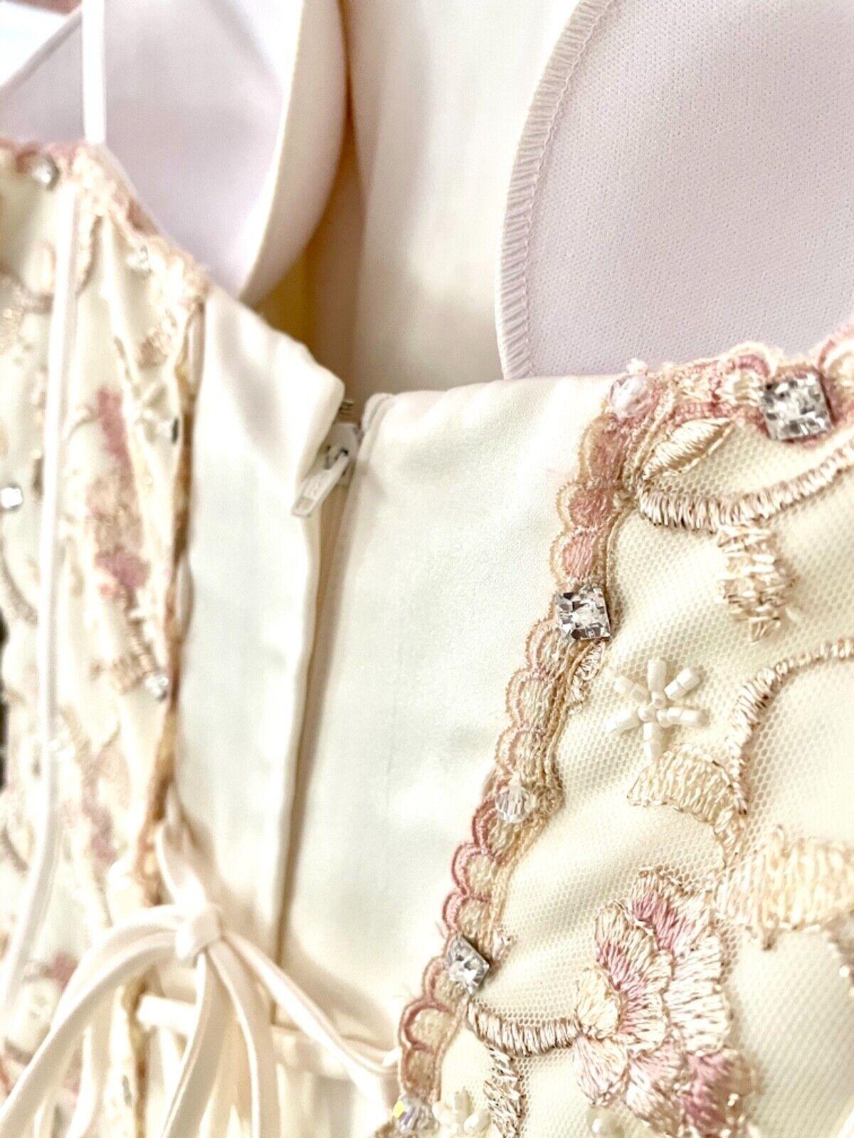 French bustle, corset, vintage, Victorian, Swarov… - image 4