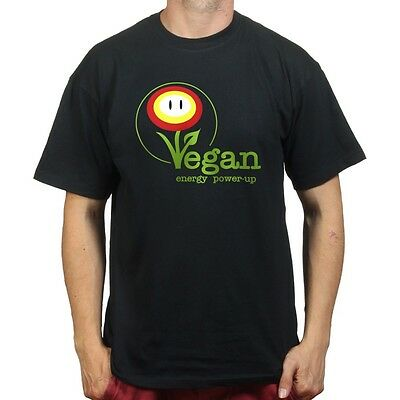 Vegan Mario Power Plant Kart 7 T-shirt P840