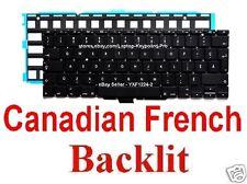 Apple MacBook Air A1370 A1465 Keyboard - CF - Canadian French - Backlit
