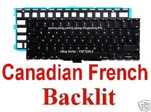 Keyboard-for-Apple-MacBook-Air-A1370-A1465-CF-Canadian-French-Backlit