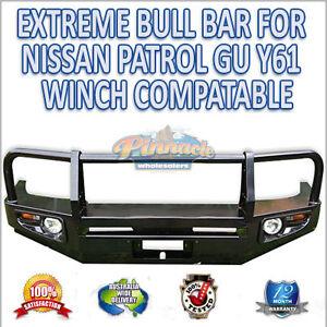 EXTREME-WINCH-BULL-BAR-FOR-NISSAN-PATROL-GU-Y61-AUSTRALIAN-STANDARD