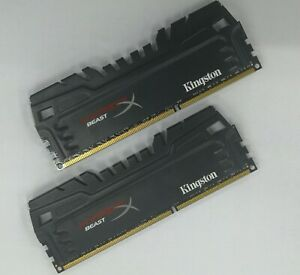 Details about Kingston 8GB Kit / 2 x 4GB DDR3 2133MHz RAM HyperX Beast  KHX21C11T3K2/8X XMP