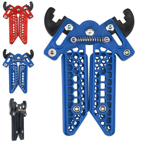 Archery Bow Kick Stand Holder Legs Stable Targets Compound Bow Adjustable Attach