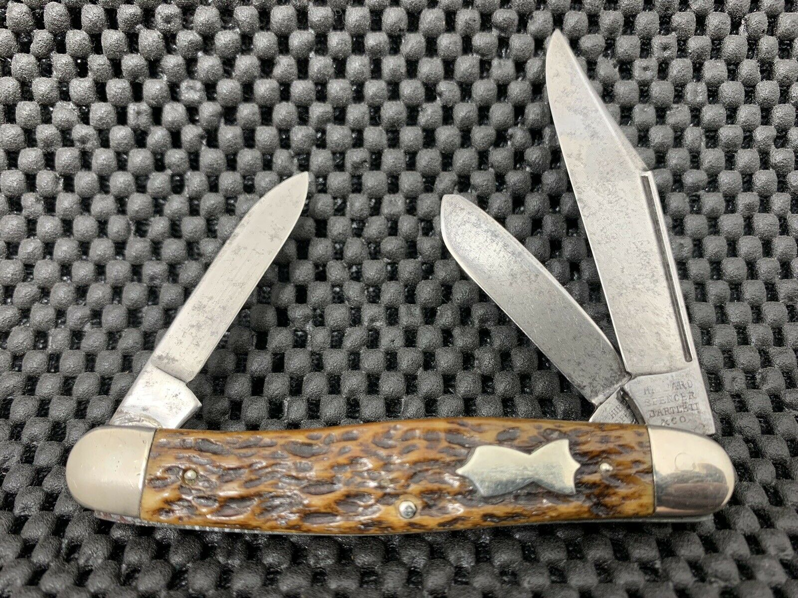 HIBBARD, SPENCER & BARTLETT KNIFE