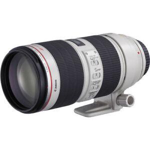 Neu Canon EF 70-200mm f/2.8L IS II USM Objektiv