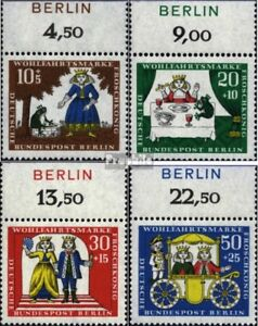 Analytique Berlin (ouest) 295-298 Impression De Feuille (édition Complète) Neuf 1966 Bien-ê Circulation Sanguine Tonifiante Et Douleurs D'ArrêT