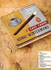 Publicité Advertising 1977  Cigare HENRI WINTERMANS  tabac de Java Brésil