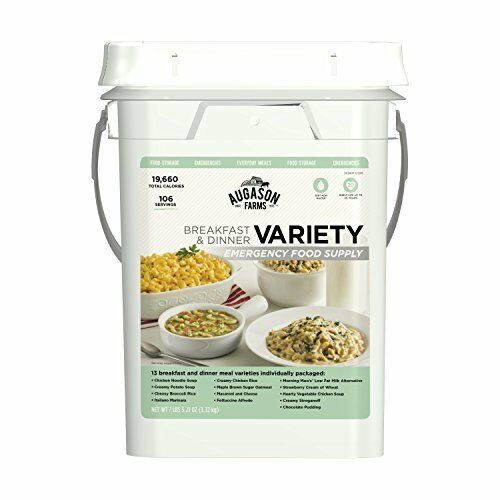 Easy to Prepare Variety Breakfast & Dinner Emergency Food Supply - Bestseller
