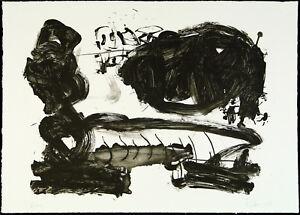 DDR-Kunst-Informel-1987-Lithographie-Frank-ECKHARDT-1959-D-handsigniert