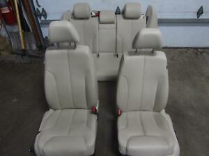 09-10-VOLKSWAGEN-VW-PASSAT-Leather-Seat-Seats-Front-Back-Rear-Complete-Heated