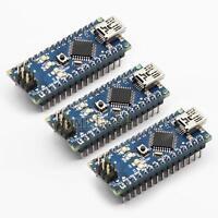 3PCS  USB Nano V3.0 ATmega328P 5V 16M FT232RL Micro-controller Board For Arduino