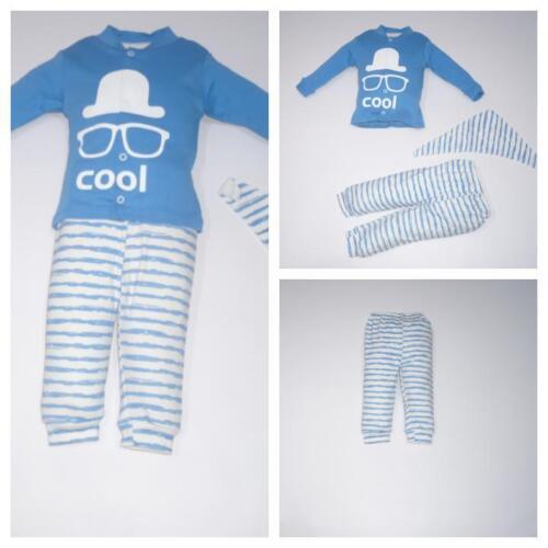 ♥ Neu ♥ Babykleidung  3-teilig , Oberteil, Strampelhose, Lätzchen Gr.56 ; 62 