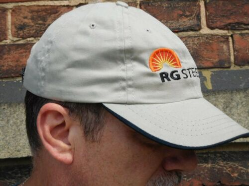 Sparrows Point BETHLEHEM STEEL NOS RG STEEL BASEBALL HAT New Old Stock