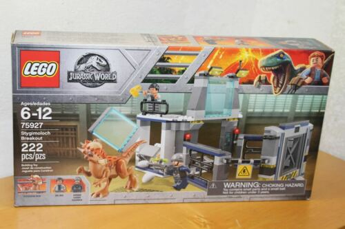 LEGO JURASSIC WORLD 75927 STYGIMOLOCH BREAKOUT SET NEW SEALED