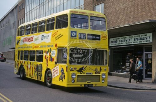 PHOTO United Counties Bristol VRT 771 XBD771J in 1973