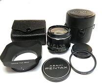 M42 Asahi Opt Co,Pentax Super Multi-Coated Takumar 28mm f3.5 w Hood MINT-