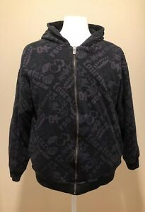 Skater Logo Sweatshirt W Black Purple Zip Reversible Hoodie over Fourstar All IPqvp