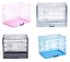 Dog-Cage-Puppy-Crates-Small-Medium-Large-Extra-Large-Pet-Carrier-Training-Cages thumbnail 1