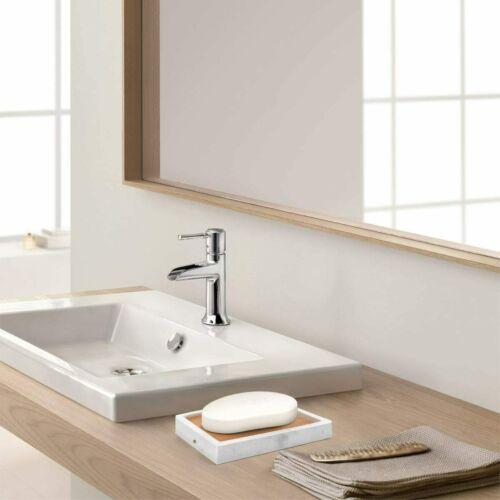 Details about  /Luxspire Soap Dish Tray Holder with Slotted Filter Water Container Box Bathroom