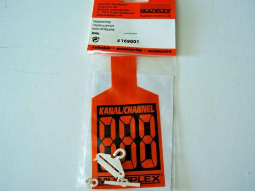 Multiplex Fréquence FANION 35 MHz Nº 169001 années 90er,