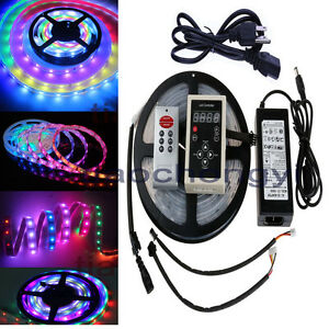 Waterproof 5m 5050 Rgb Dream Color 6803 Ic Led Strip Light
