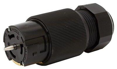 HUBBELL CS6364L (Twist-Lock, Insulgrip, 50A 125/250V, 3P4W, Black)