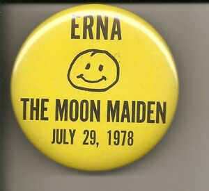 2809c5eaf9a Image is loading Vintage-Erna-The-Moon-Maiden-July-29-1978-