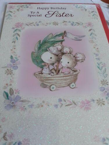 Sister birthday card.