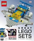 Great LEGO Sets: a Visual History by Daniel Lipkowitz and Dorling Kindersley Publishing Staff (2015, Hardcover)