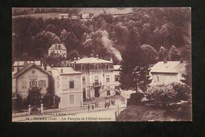 Postcard-Antique-Morez-The-Temple-And-Hotel-Central