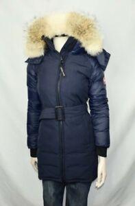 Details about Canada Goose Women s Rowan Blue Parka  ff94fac018ca