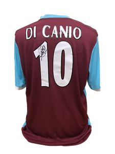 31253e80955 PAOLO DI CANIO SIGNED WEST HAM UNITED 10 FOOTBALL SHIRT SEE PROOF ...